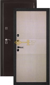 Термодверь Berserker Термо ТТ G305, 2 замка, 1,5 мм сталь, (медь+лиственница светлая)