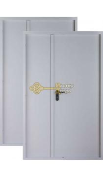 Дверь Цитадель, ДМП-02, EI 60, 1 замок, 1мм сталь, (серый)