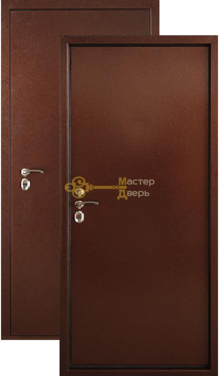 Термодверь Falko, Арктика Промо, 1 замок, 2мм сталь, (медь антик)