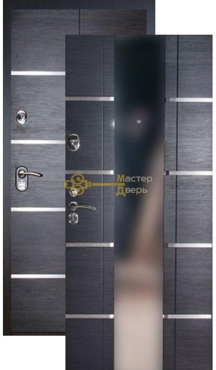 Дверь Falko, Конструктор М-7, 2 замка, 2мм сталь, (венге кантри)