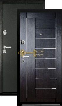 Дверь Falko, Конструктор М-9, 2 замка, 2мм сталь, (чёрный шёлк+венге)