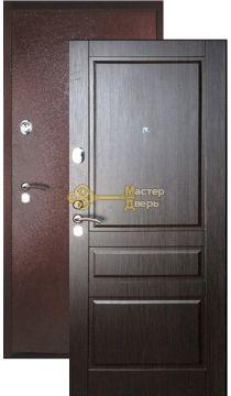 Дверь Falko, Конструктор М-2, 2 замка, 2мм сталь, (медь антик+венге)