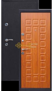 Дверь Йошкар, Золотистый дуб, 2 замка, 1мм сталь, (медь антик+золотистый дуб)