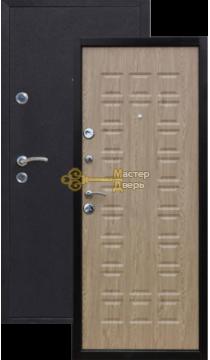 Дверь Йошкар, Карпатская ель, 2 замка, 1мм сталь, (медь антик+карпатская ель).