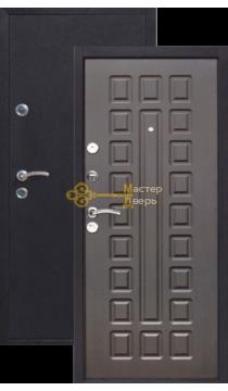 Дверь Йошкар, Венге, 2 замка, 1мм сталь, (медь антик+венге)