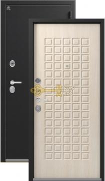 Дверь Сибирь, S-8, 2 замка, 1,2мм сталь, (чёрный крокодил+седой дуб)