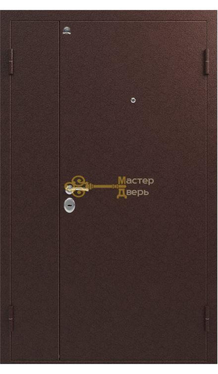 Дверь Сибирь, S-3, 1 замок, 1,5мм сталь, (медь)