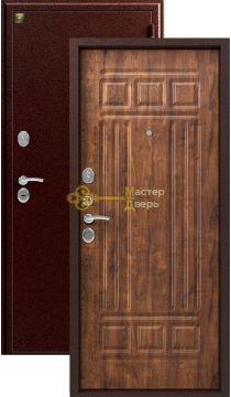 Дверь Зевс, Z-4, 2 замка, 1,5мм сталь, (медь антик+антик дуб)