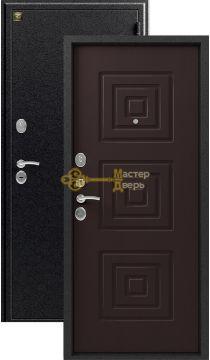 Дверь Зевс, Z-4, 2 замка, 1,5мм сталь, (серебро антик+венге)