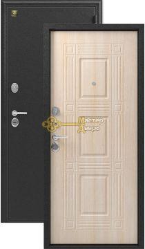 Дверь Зевс, Z-6, 2 замка, 2мм сталь, (серебро антик+седой дуб)