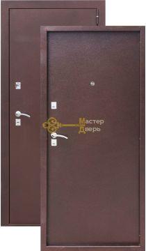 Дверь ЗСД Сибирь Сибирь-Лайт, 2 замка, 1,2 мм сталь, (медь)