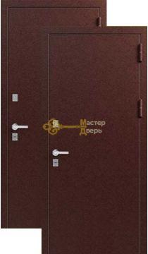 Дверь ЗСД Сибирь Сибирь-Термо, 2 замка, 1,2 мм сталь, (медь)