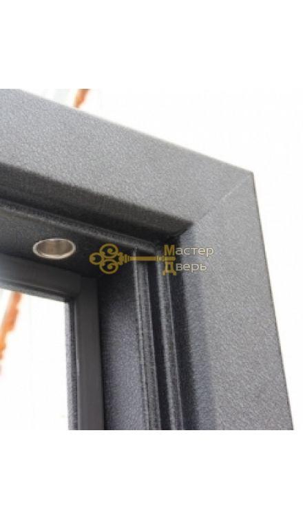 Дверь ЗСД Сибирь Сибирь-Термо, 2 замка, 1,2 мм сталь, (медь+тиковое дерево 3D)