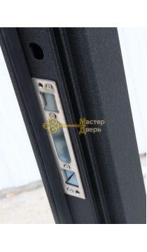 Дверь ЗСД Сибирь Сибирь-Лайт, 2 замка, 1,2 мм сталь, (медь+миланский орех)