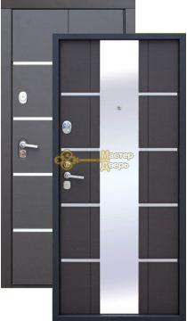 Сейф-дверь входная Alta Tech, 2 замка, 1,8 мм металл, венге+венге.