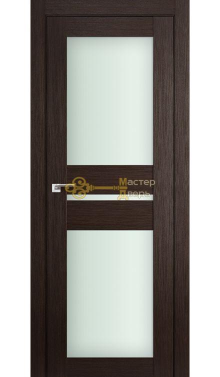 Профиль Дорс №70X-Модерн, стекло матовое, цвет венге мелинга, остекленная