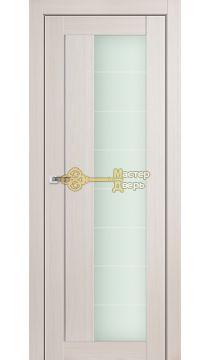 Профиль Дорс X-классика №47X-Модерн, стекло матовое, цвет эш вайт мелинга, остекленная