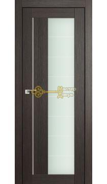 Профиль Дорс X-классика №47X-Модерн, стекло матовое, цвет грей мелинга, остекленная