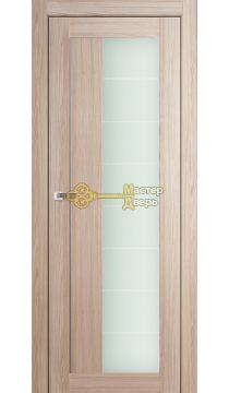 Профиль Дорс X-классика №47X-Модерн, стекло матовое, цвет капучино мелинга, остекленная