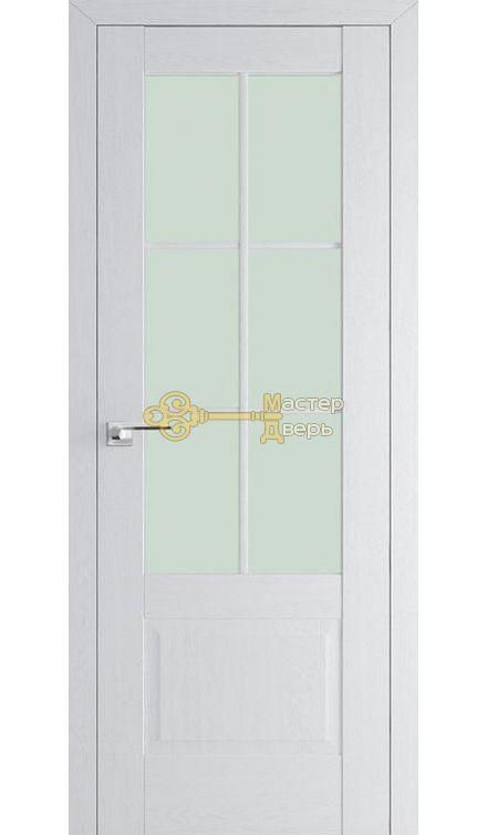 Профиль Дорс X-классика 103 Х-классика, стекло матовое, цвет орех пекан белый, остекленная