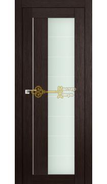 Профиль Дорс X-классика №47X-Модерн, стекло матовое, цвет венге мелинга, остекленная
