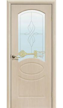 Дверь межкомнатная Версаль ПО (белёный дуб)