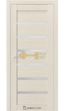 Дверь межкомнатная Квест, Q-5 стекло матовое. (Клён айс)