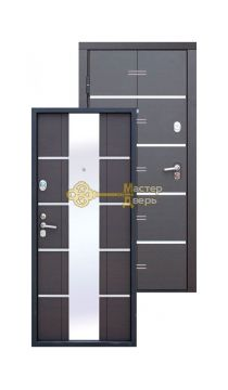 ALTA TECH 2 замка, 1,8мм сталь, (венге+венге)