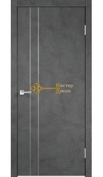 Полотно TECHNO облегченное М2 ПГ Муар темно-серый